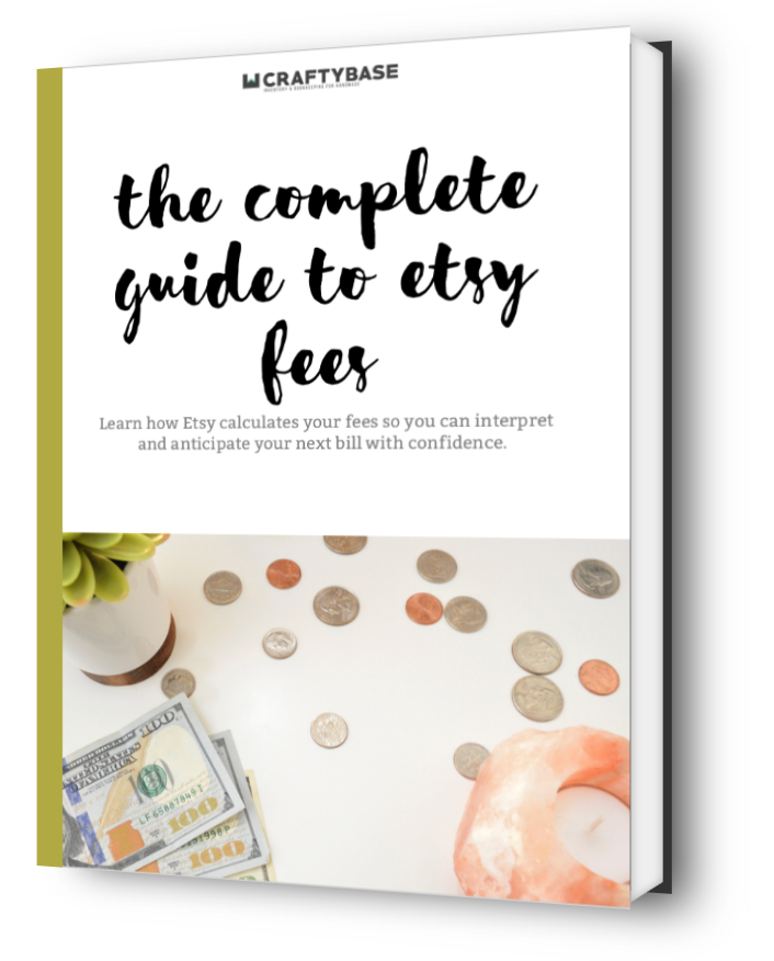 Complete guide to etsy fees ebook cover open