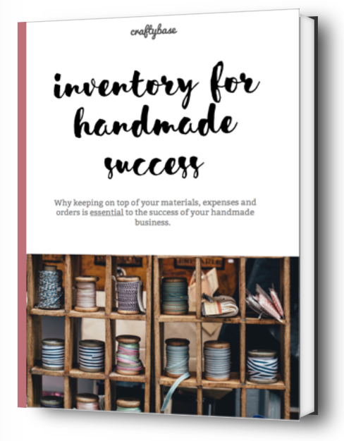 Inventory Management for Handmade Sellers eBook cover