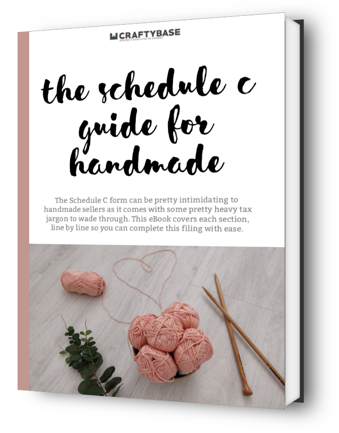 Schedule C Guide for Handmade Sellers eBook cover