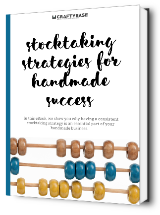 Stocktaking strategies for handmade sellers eBook Cover