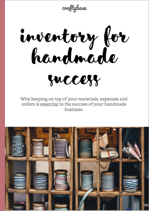 Inventory for Handmade Success eBook Cover