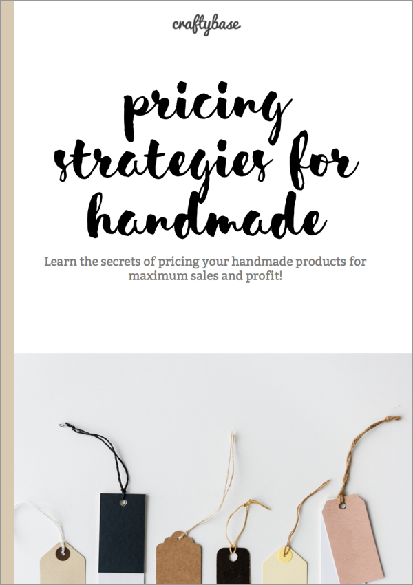 Pricing Strategies for Handmade Success eBook Cover
