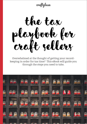 Tax playbook for Handmade Sellers eBook Cover